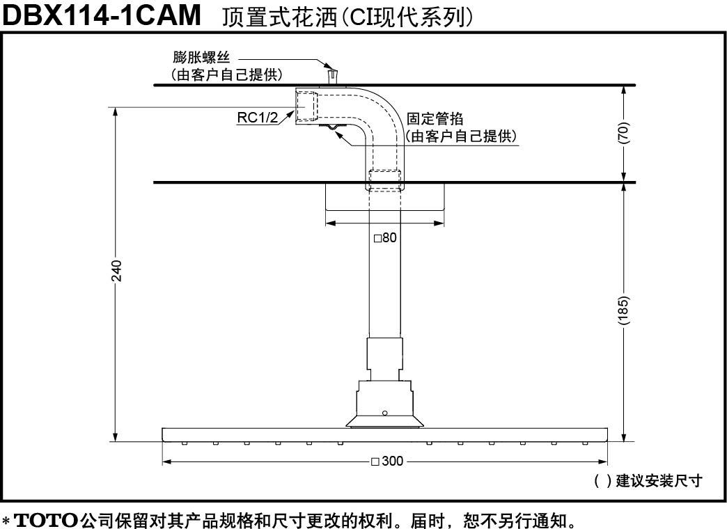 DBX114-1CAM-TOTO China